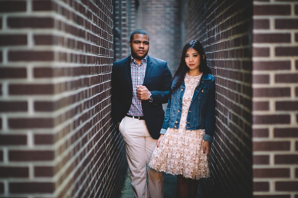 Downtown Raleigh NC Engagement Session