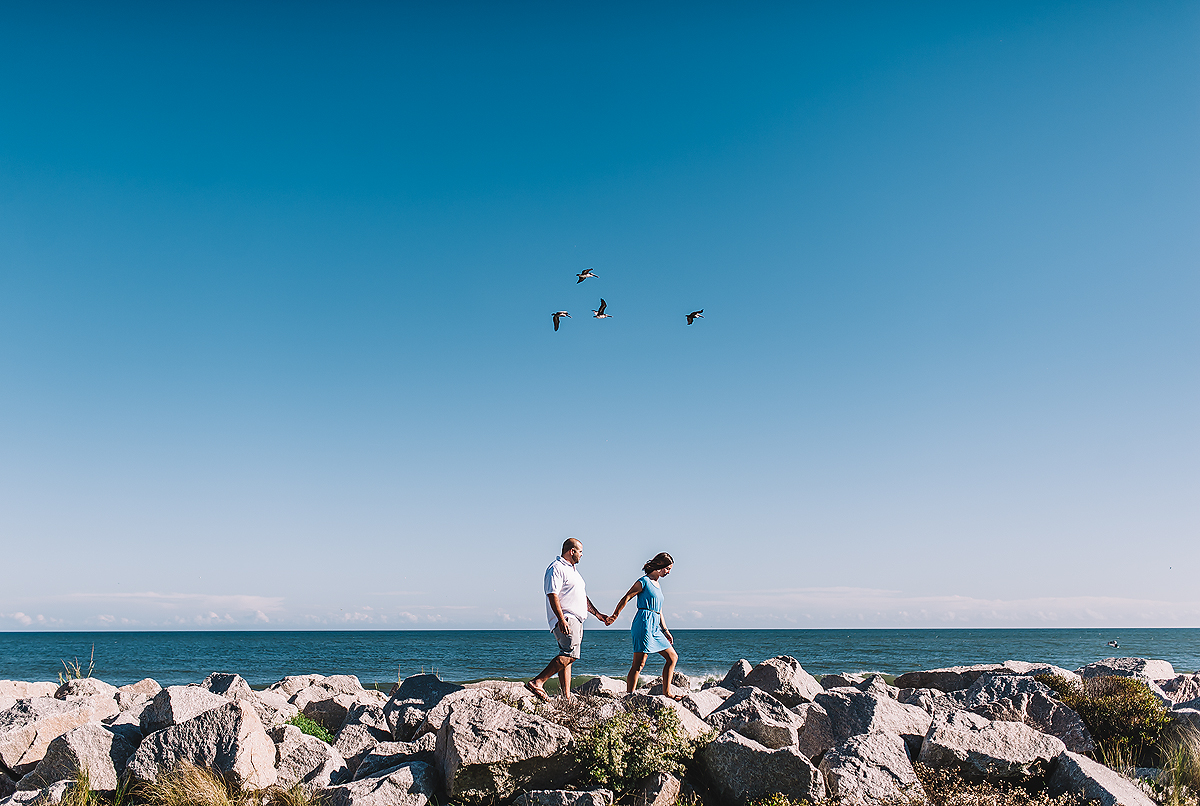 Kure Beach Engagement Session