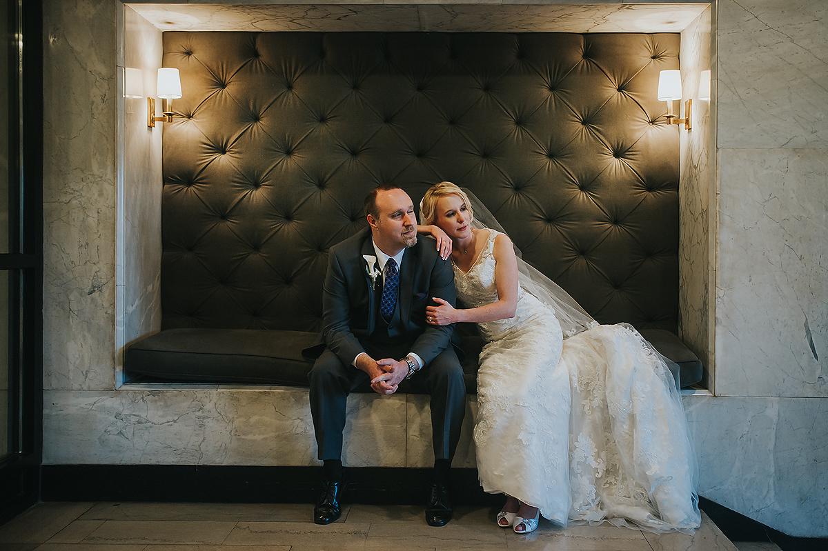 Wedding Portrait at The Patrick Henry Ballroom
