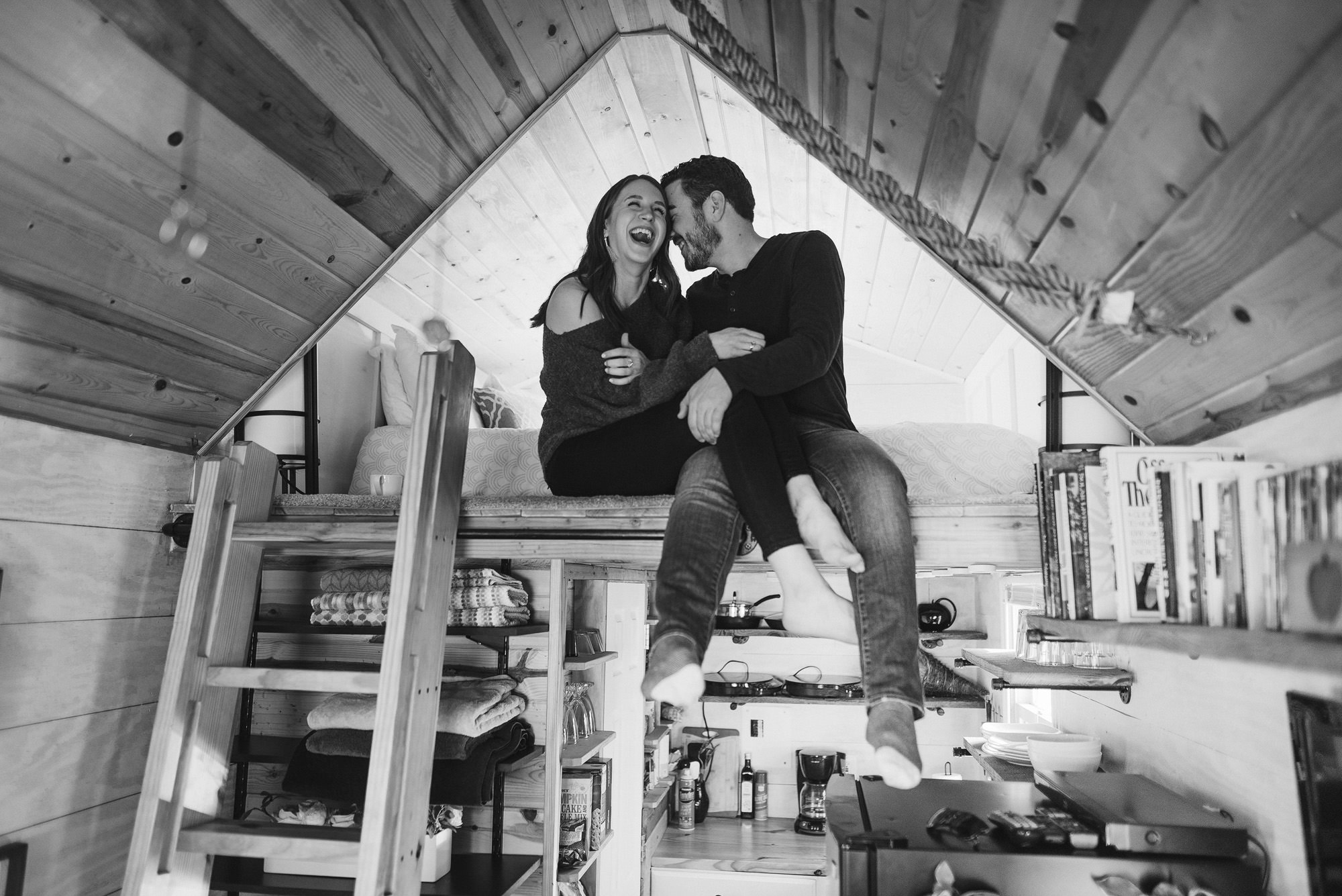 Tiny Home Engagement Session